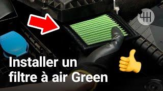 filtre a air green