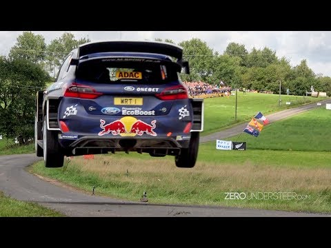 WRC Rally Deutschland 2017 | Big jumps & many crashes