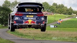 WRC Rally Deutschland 2017   Big jumps & many crashes