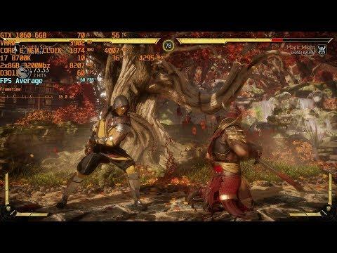 Mortal Kombat 11 - Max Settings - GTX 1060 6GB | i7 8700k (stock