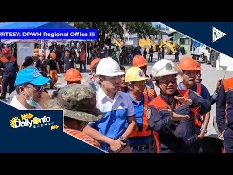 Pagguho ng supermarket sa Porac, masusi nang iniimbestigahan ng DPWH