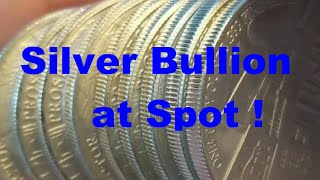 Deal Alert!  Generic Silver Bullion Rounds at Spot from Provident Metals.  Unboxing & APMEX too.