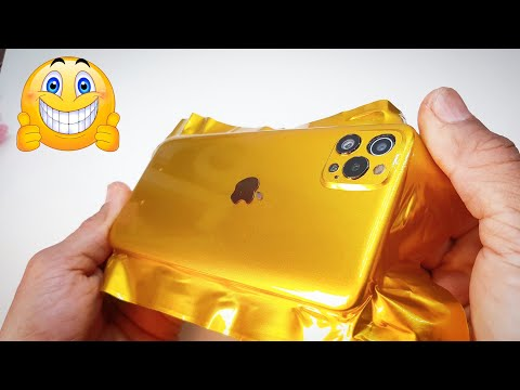 DIY | VIVO convert iphone 12 pro max – wrapping cell phone in foil – wrapping paper phone
