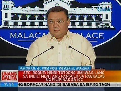 Panayam kay Sec. Harry Roque, presidential spokesman