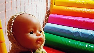 Indoor playground for kids | Fun activities with kids and baby born