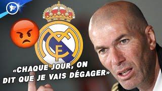 Le gros coup de gueule de Zinedine Zidane surprend la presse espagnole | Revue de presse