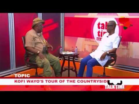 Kwasi Pratt Jr interviews Kofi Wayo Who Reveals Bits of his Manifesto ahead of  2020 Election