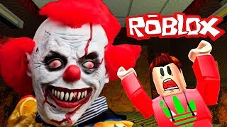 THE SCARY ELEVATOR IN ROBLOKS AWESOME CLOWN ME ATTACKED CARTOON GAME FIVE NIGHTS  FREDDI HORROR