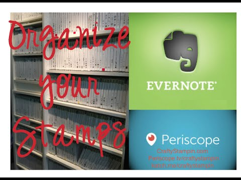 Organizing and Indexing your Stamps w/ Evernote