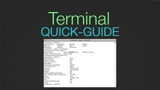 Basic Terminal Usage - Cheat Sheet to make the command line EASY