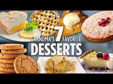 How to Make Grandma's 7 Favorite Desserts | Dessert Recipes | Allrecipes.com