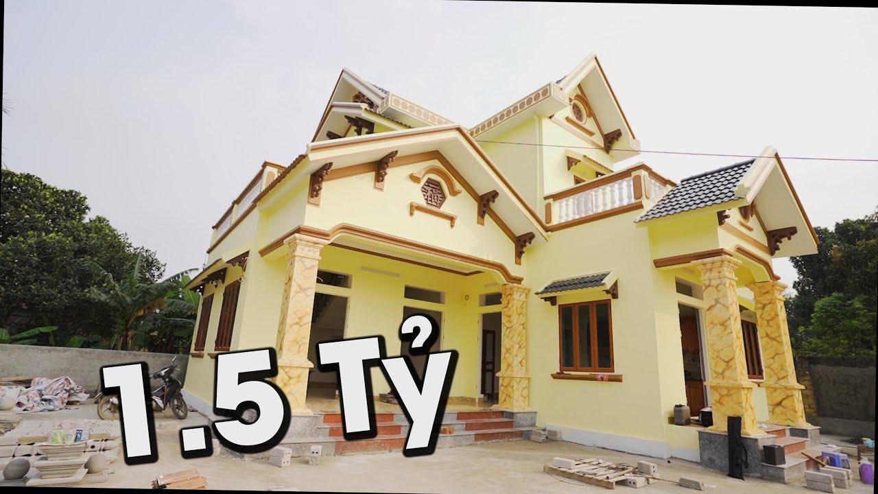 Mẫu Nhà Cấp 4 Đẹp 1.5 Tỷ Có Gác Lửng 3 Phòng Ngủ Tại Sơn Tây Hà Nội Do Kisato Thiết Kế Cho Bác Huy