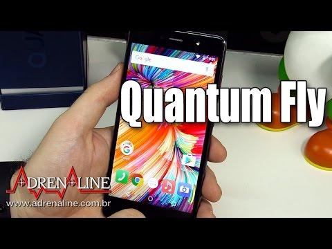 Quantum Fly -  Smartphone intermediário com design e performance de premium