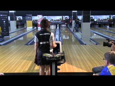 Sandra Andersson vs Diandra Asbaty - Women's Semi Finals 2011 Bowling World Cup South Africa