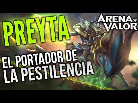 EL PORTADOR DE LA PESTILENCIA | Preyta Gameplay  | Arena of Valor | Black Ursus