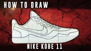 How To Draw: Nike Kobe 11