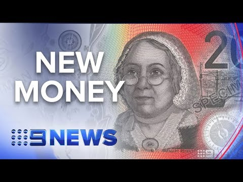 Australia's Brand New $20 Note | Nine News Australia