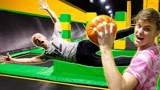 TRAMPOLINE PARK BATTLE vs. STEPHEN & CARTER SHARER