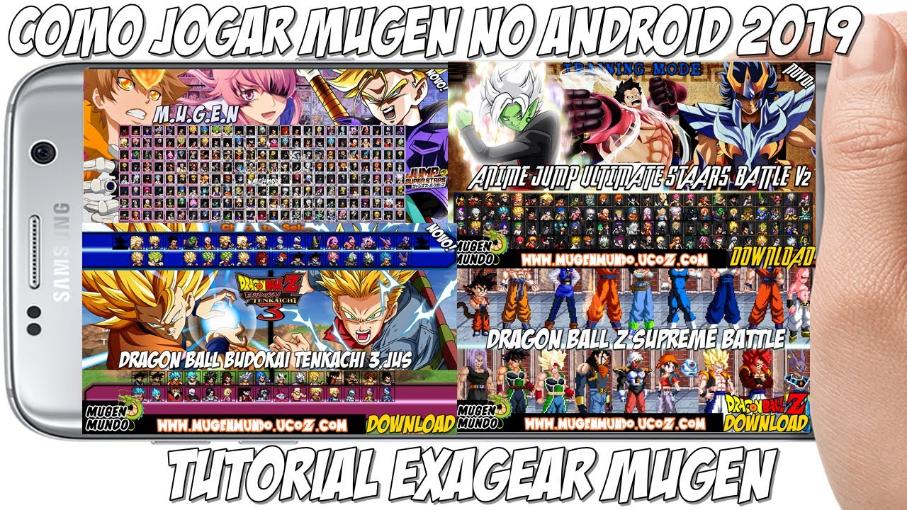 MUGEN FOR ANDROID WITH NEW EMULATOR - Downloads - The MUGEN ARCHIVE