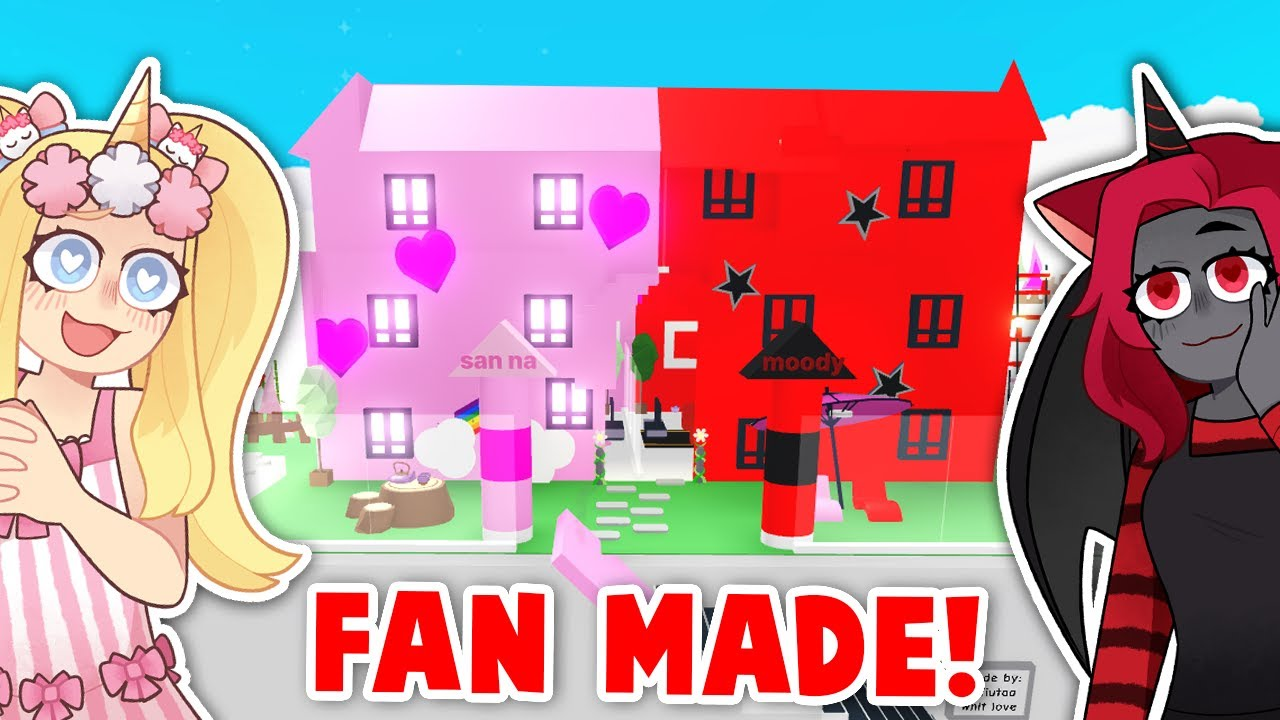 The COOLEST FAN MADE CASTLE In Adopt Me! (Roblox)