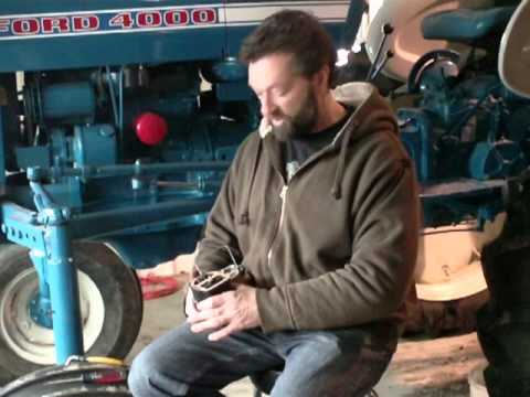 Ford 8N Distributor and Coil Installation - YouTube