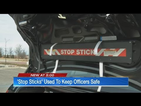 Wichita PD suspends use of 'stop sticks' after officer's injury