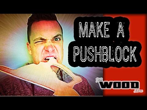 Woodworking basics: Make a push stick.
