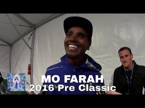 Mo Farah -2016 Pre Classic 10,000 m Interview