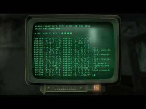 Fallout 3 And New Vegas - How To Hack A Terminal