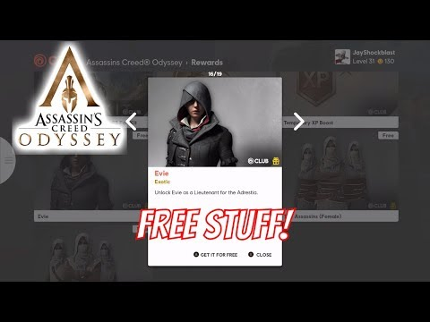 Assassin's Creed Odyssey - Ubisoft Club Rewards Overview