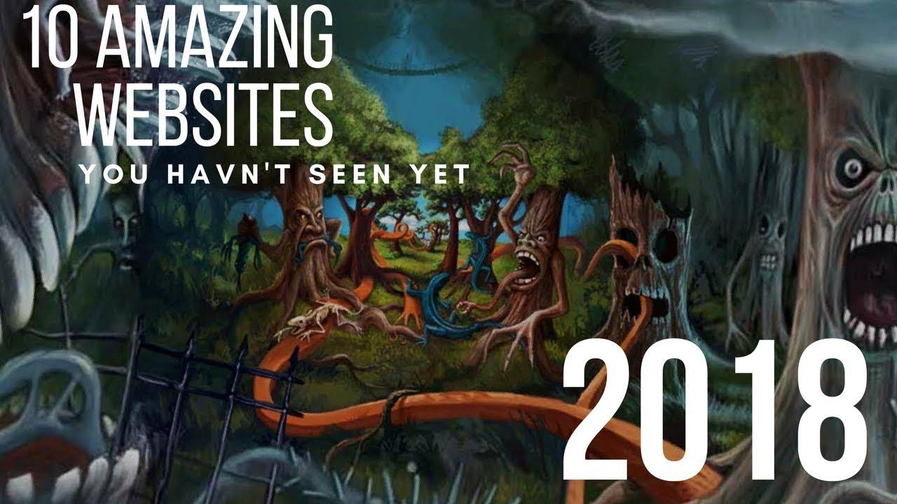 Download 10 Amazing Websites You Haven't Seen Yet! 2018