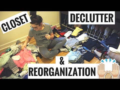 speed-clean-with-me-|-declutter-&-reorganizing-my-closet