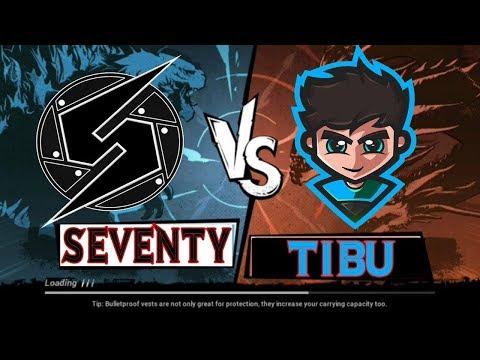 1vs1 vs My Bro |TIBU vs SEVENTY | PubgMobileShqip