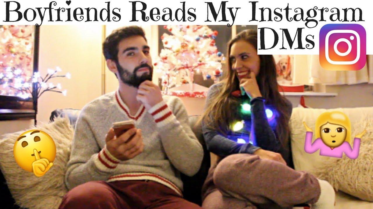 READING MY GIRLS INSTAGRAM DMS  - YouTube   Mo vlogs
