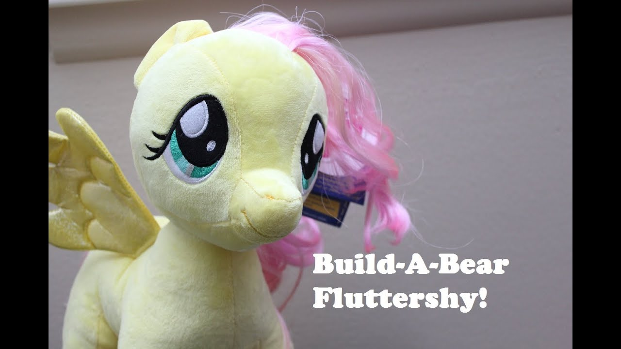 My Little Pony Fluttershy Build A Bear Adventure And