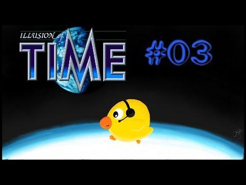 Let's Play Illusion of Time [blind] #03 - die Flucht aus dem Schloss