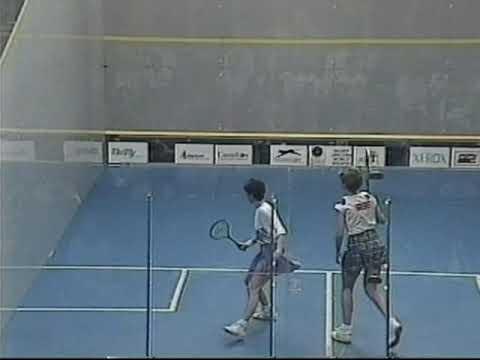 Susan Devoy  Michelle Martin  1992 Women's World Championship Part 1