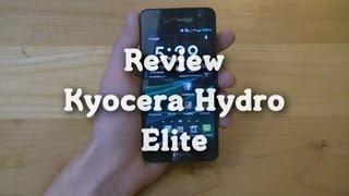 Review: Kyocera Hydro Elite