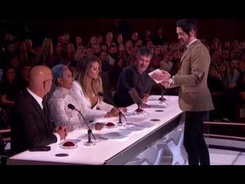 Colin Cloud: This Creepy Mind-reader PREDICTS THE FUTURE! America's Got Talent 2017