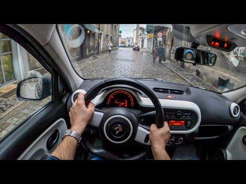 Renault Twingo III | 4K POV Test Drive #419 Joe Black