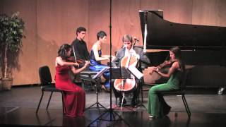 Faure Piano Quartet in C minor, Op. 15: I. Allegro molto moderato