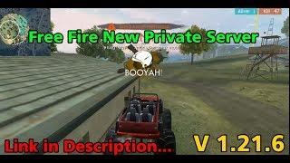Baixar [UPDATED] Free Fire New Private Server V.1.21.6   Mega MOD