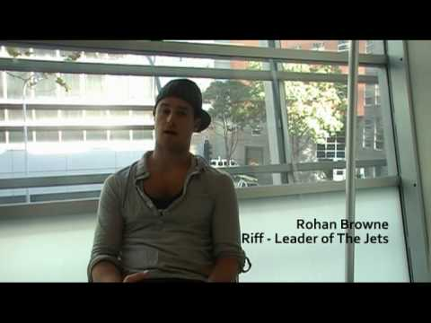 Rohan Browne DanceLife Interviews Rohan Browne from West Side Story YouTube