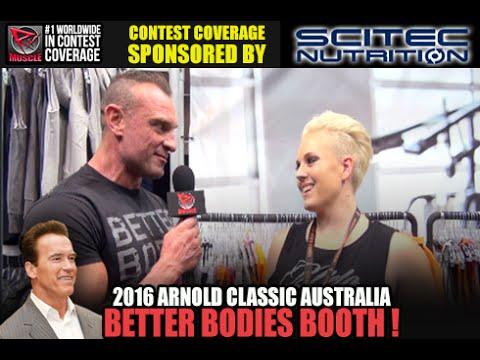 Better Bodies Australia At The 2016 Arnold Australia Expo!