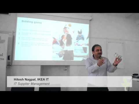 IEC Digitala veckan 26 april IT Governance – Hitesh Nagpal, IKEA IT, IT Supplier Management