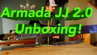 2015 Armada JJ 2.0 Unboxing! With Rossignol Boots and Bindings!