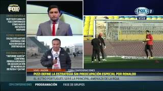 ARTURO VIDAL HABRIA NINGUNEADO A CR7 SE ENCIENDE EL PARTIDO