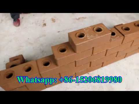 Automatic interlocking lego brick machine for tijolo ecological with soil earth mud and cement