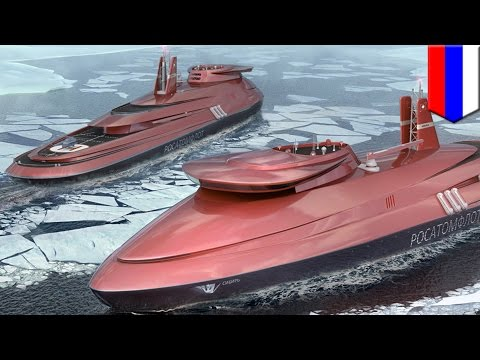 Russia to build futuristic nuclear-powered icebreaker to keep Northern Sea Route open - TomoNews