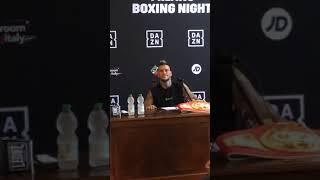 Conferenza stampa Scardina Vs Goddi intervento luca Capuano